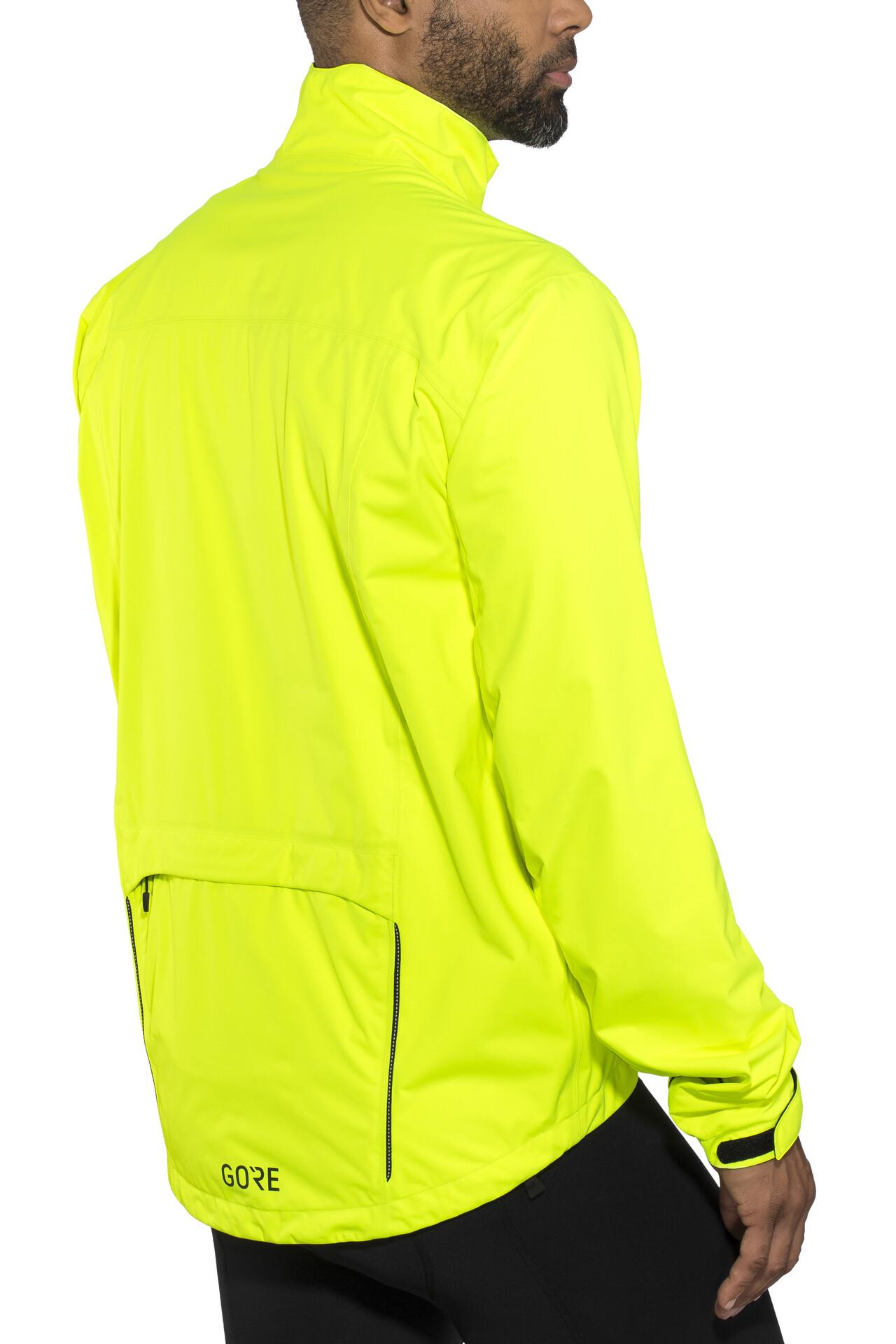 De C3 Vélos Veste En Wear Gore Homme Tex Jaune Boutique A048cq